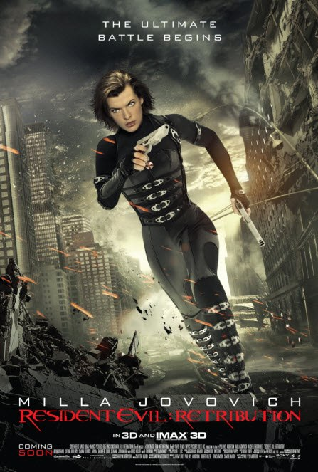 review : resident evil (retribution)