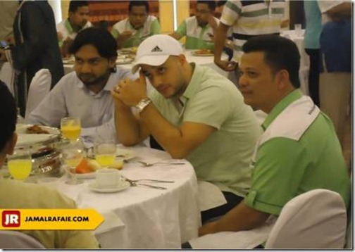 maher zain lunch