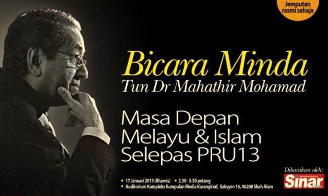 Koleksi Video Bicara Minda Tun Dr. Mahathir Mohamad