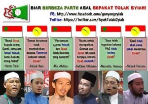 Tidak kira siapa kita, di Malaysia hanya ada puak Sunni, tolak Syiah!
